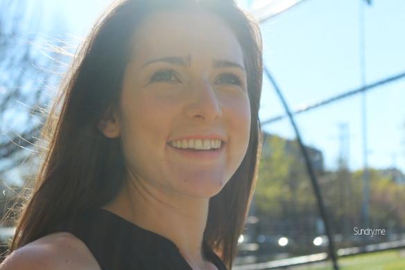 faceshot with sunlight