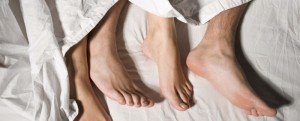 Sexual Health - feet under covers